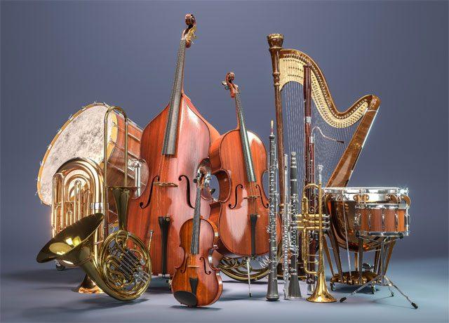 Glasbeni instrumenti