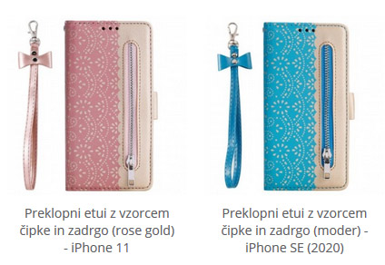 Preklopni etui za iPhone